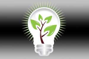 LED Bulb Tree