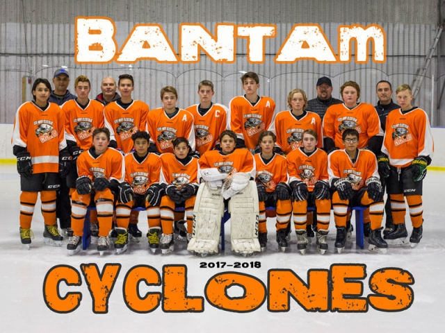 Bantam Cyclones Hockey