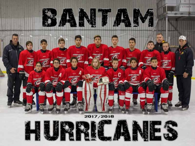 Bantam Hurricanes Hockey