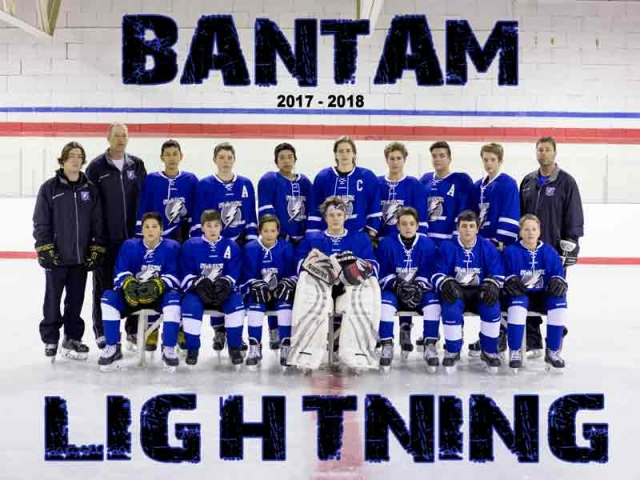 Bantam Lightning Hockey