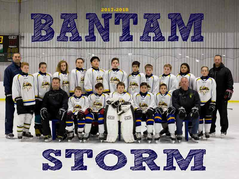 Bantam Storm Hockey